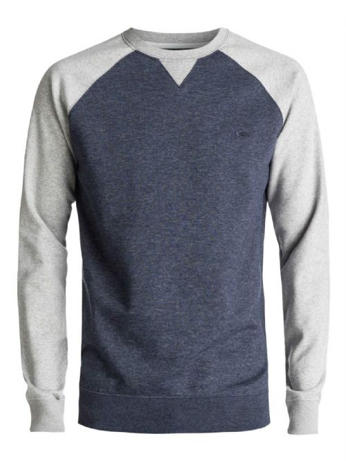 QUIKSILVER MENS JUMPER.NEW EVERYDAY CREW SWEAT FLEECE SWEATSHIRT TOP 7W 3427 BYJ